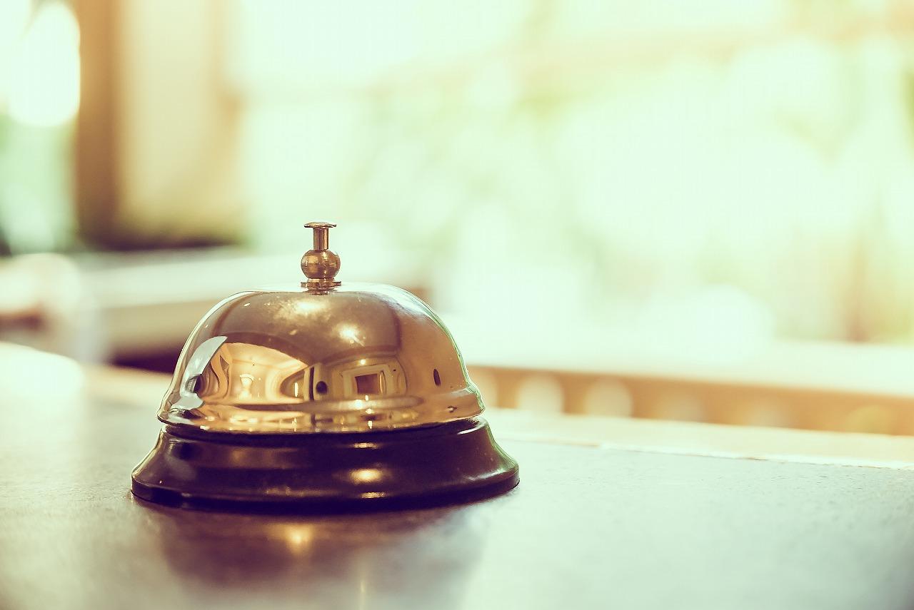 《14時~23時/8時~17時》ホテルのフロントスタッフ♪♪若手活躍中のお仕事★